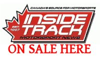 Inside Track Magazine Sold Here